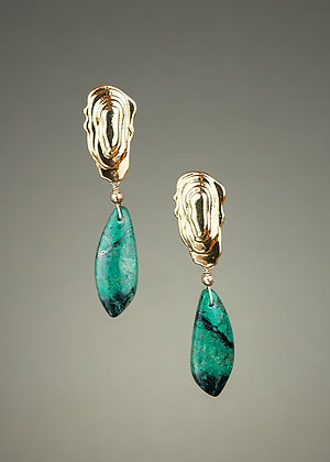 Sonoran Sunrise Turquoise Earrings