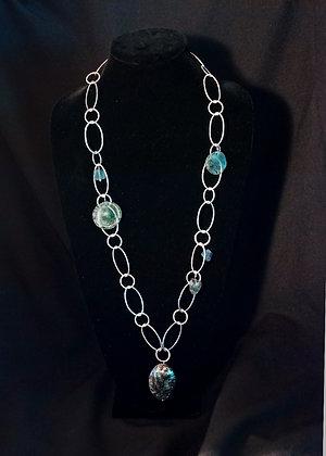 W1129008 Roman Glass Necklace