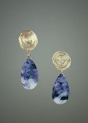 Mexican Opal Earrings