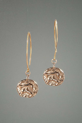 Bronze Earrings