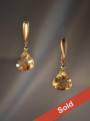 CTGP227919 Citrine Earrings