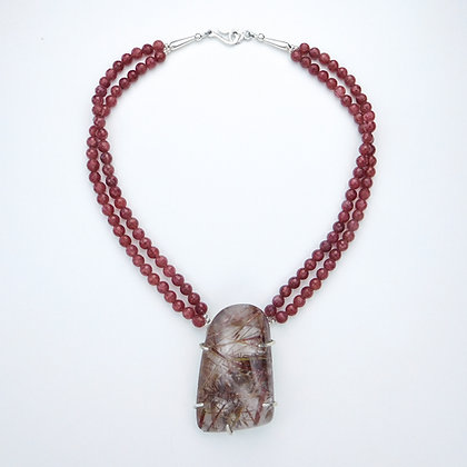 1188500 Rutillated Quartz Necklace
