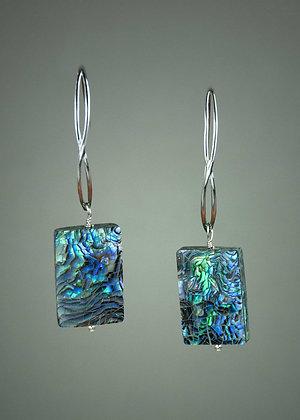 New Zealand Abalone Earrings
