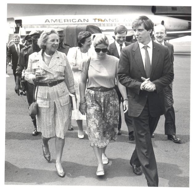 Ethel, Vicki & Michael in Congo.jpg