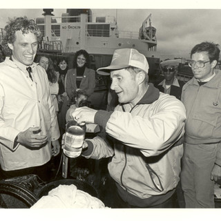 Joe on oil tanker in 1982.jpg