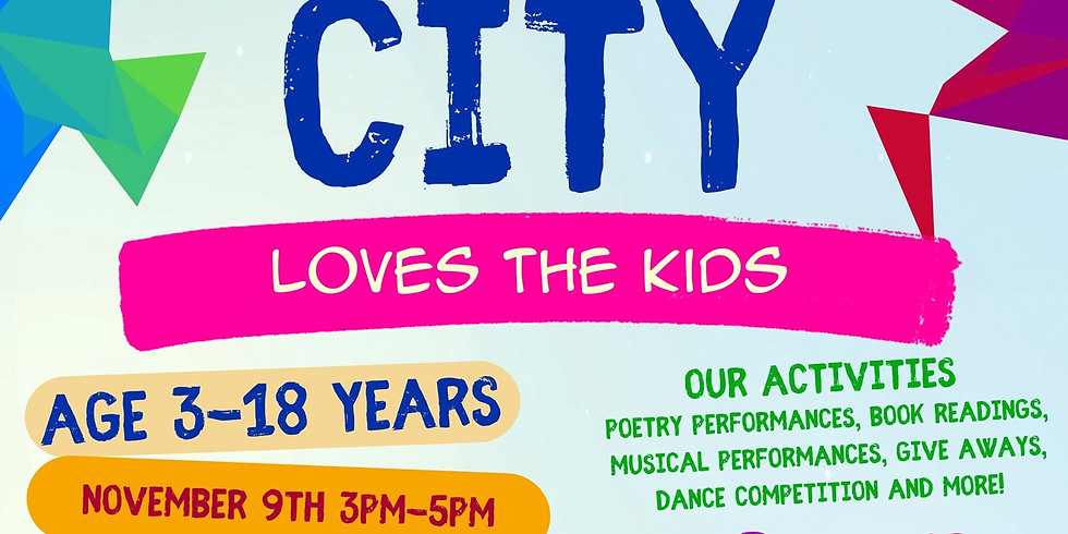 Poetic City Loves The Kids