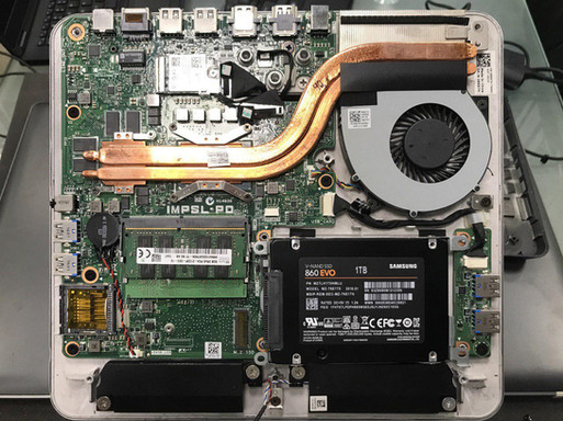 Replace HDD to SSD