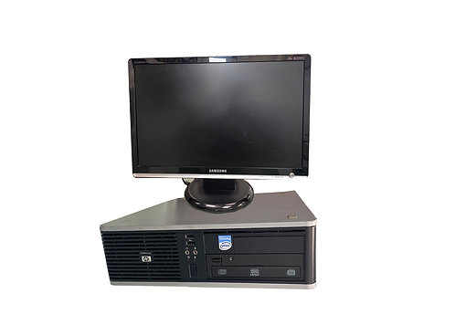 """HP Compaq dc5800 6GB Ram, 250GB  HDD Win 10, 22"""" Screen"""