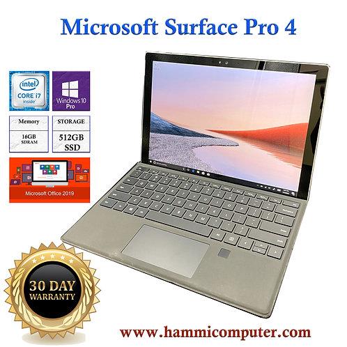 Microsoft Surface Pro 4, Intel Core i7, 16GB Ram, 512GB SSD, Win10 Pro
