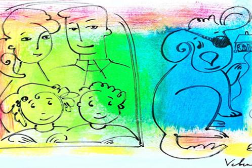 One-Eyed Leo Colour prints