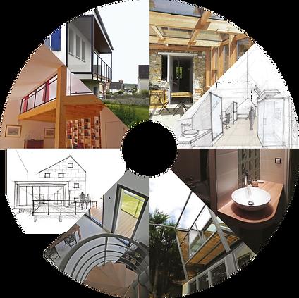 maison neuve, extension, rénovation, surélévation, maison bois, ossature bois, écologique