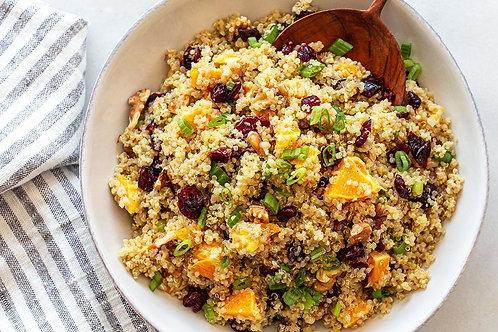 Cranberry Orange Quinoa Salad (v/gf)