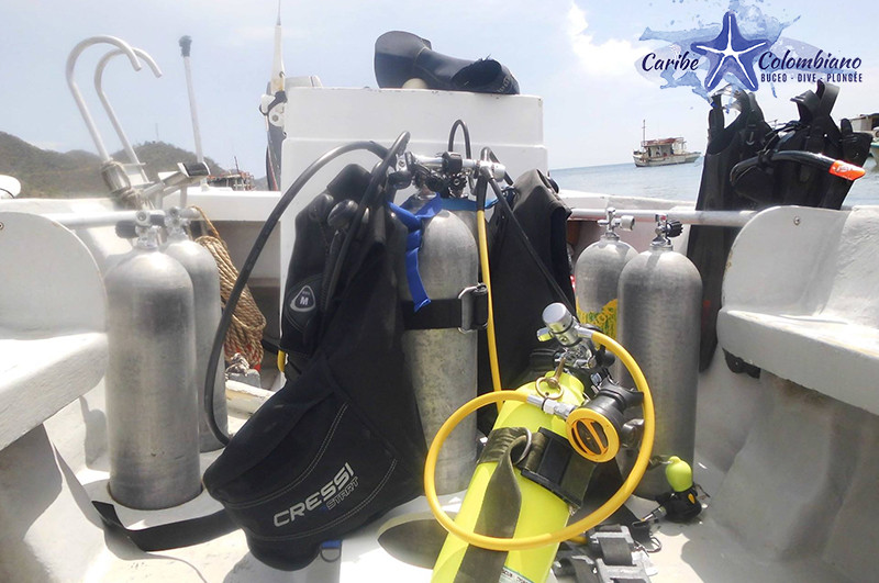 Diving Equipment | Diving Santa Marta | Diving School