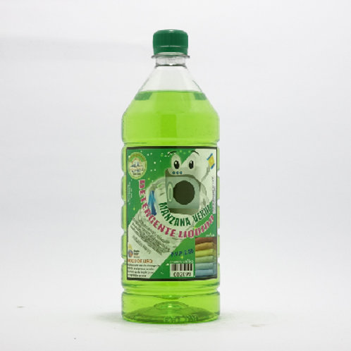 Detergente Líquido Manzana Verde
