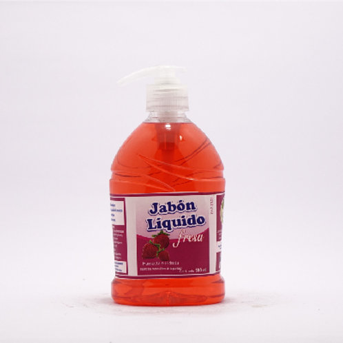 Jabón Líquido Fresa