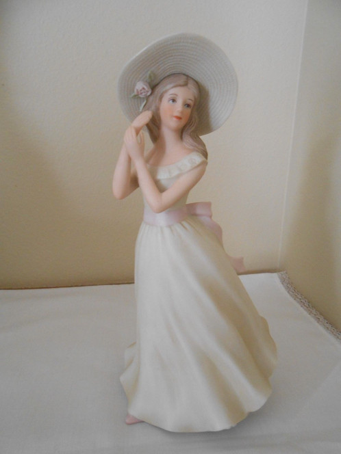 A home interior masterpiece porcelain figurine melanie 1996