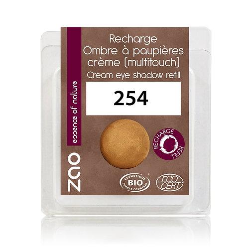 Recharge Fard à Paupières crème 254 (bronze doré)