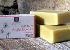 Karité-argile blanche / Shea-Witte klei 100 g