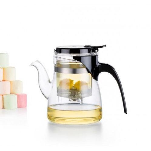 Bule de chá de vidro