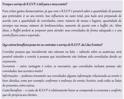 Importância do RSVP