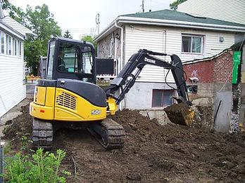 Excavation Agrandissement