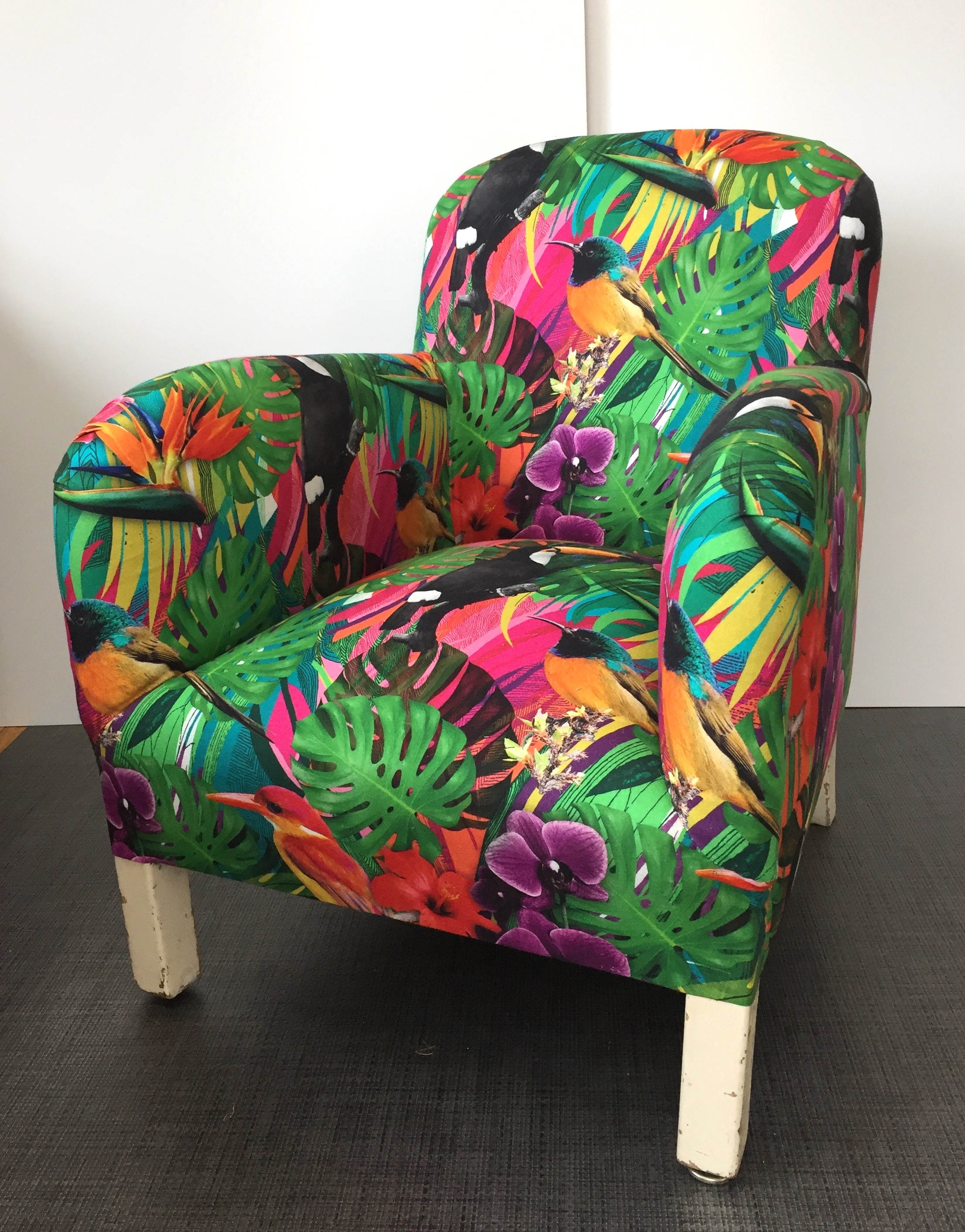 Fauteuil moderne jungle