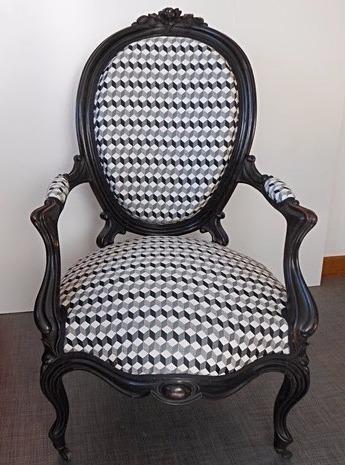 Chaise louis XV