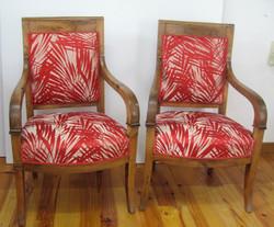 fauteuil traditionnel tissu le liévr