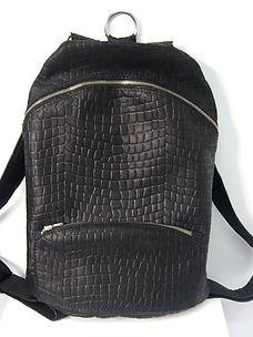 sac à dos cuir de vachette souple