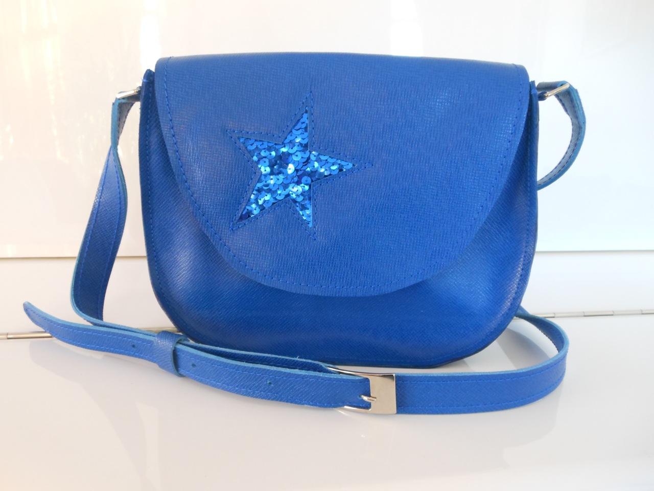 sac étoile bleu