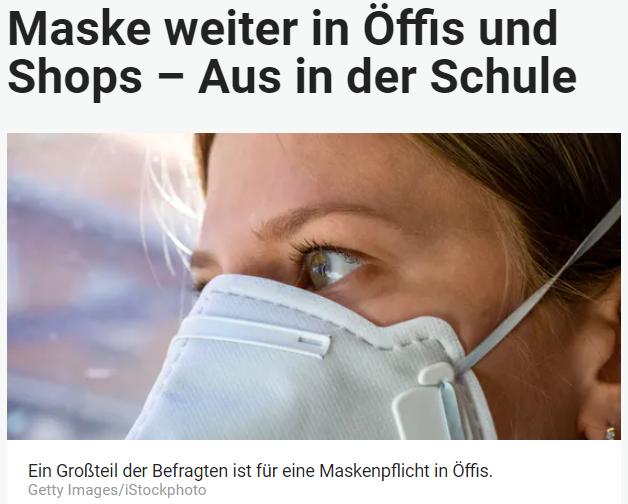 Unique research Umfrage HEUTE Frage der Woche Derzeit wird diskutiert, die COVID-Maskenpflicht bis zum nächsten Winter beizubehalten. In welchen Innenbereichen (Indoor) wären Sie dafür oder dagegen? Online Artikel