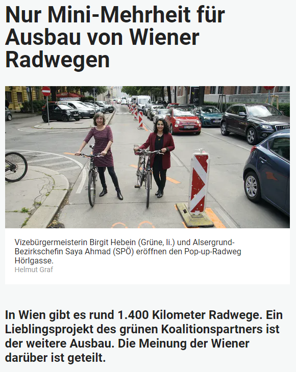Unique research Umfrage HEUTE Umfrage Gemeinderatswahl Wien 2020 Online Artikel