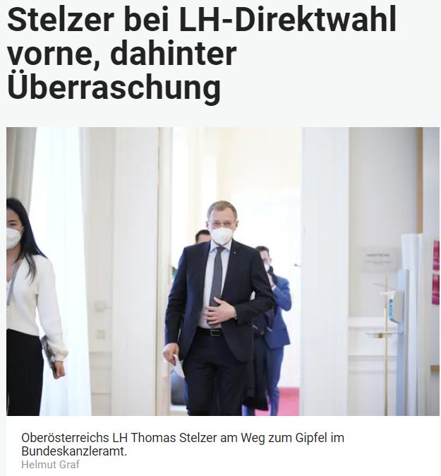 Unique research Umfrage HEUTE Landtagswahl Oberösterreich Direktwahl Online Artikel