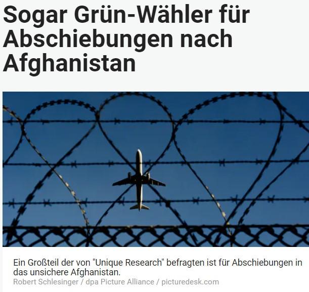 Unique research Umfrage HEUTE Frage der Woche Sollen afghanische Asylwerber, deren Asylantrag in Österreich abgelehnt wurde, wieder nach Afghanistan abgeschoben werden? Online Artikel