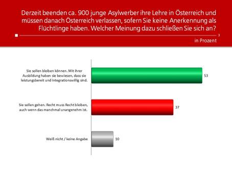 Profil-Umfrage: Asylrecht nach Lehre in Österreich