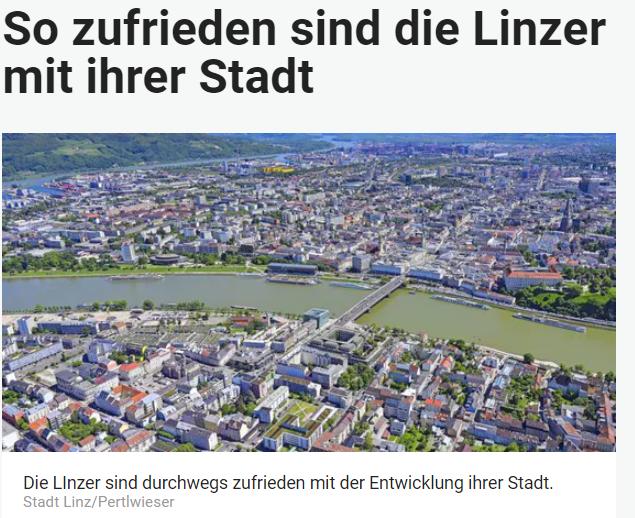 Unique research Umfrage HEUTE In welche Richtung entwickeln sich die Dinge in Linz? Online Artikel