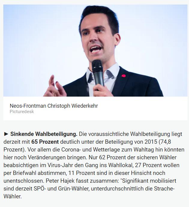 Unique research Umfrage für HEUTE und ATV zur Wien-Wahl Online Artikel