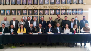 Sesión Plenaria del Consejo Coordinador Empresarial de Aguascalientes (CCEA)