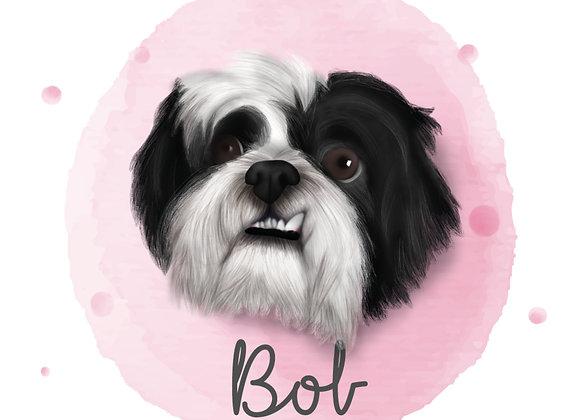 Ilustração Pet   Cães