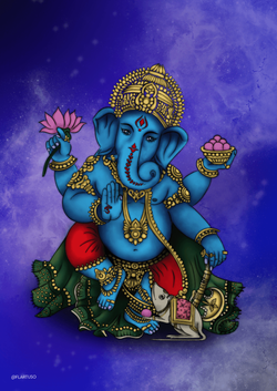 Ganesha | Ilustração Digital