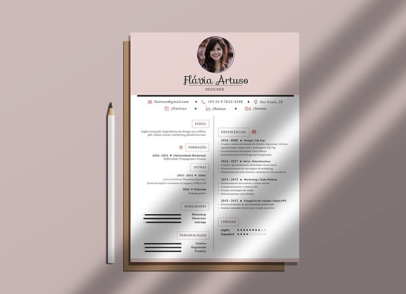Currículo   Rosé com foto