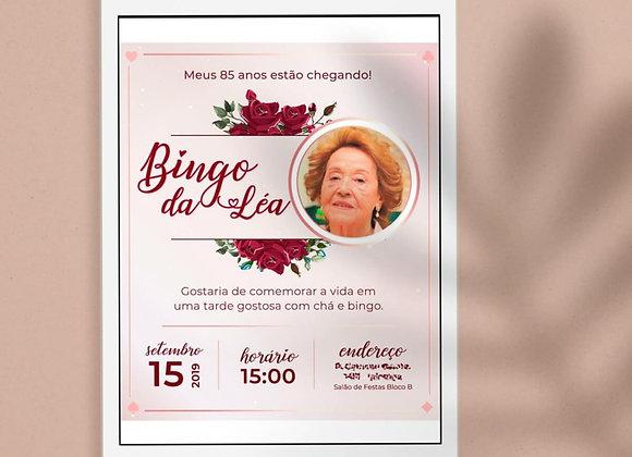 Convite | Aniversário Rosé