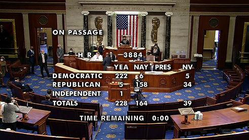 U.S. House Passes Historic Bill to Decriminalize Cannabis