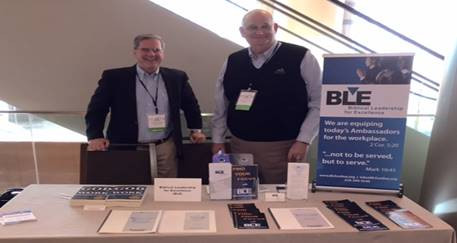 Phil and Joe in Dallas promoting BLE at the 2016 Faith @ Work Conference