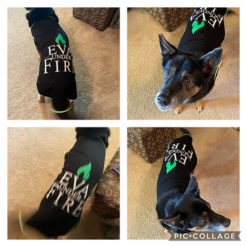 Eva Under Fire Pet Onesie