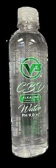Bottle of V3 CBD Water