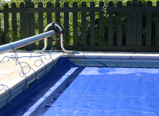 Pool covers can present water safety challenges...