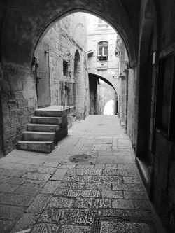 Inside the Old City of Jerusalem