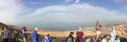 Overlooking the Sea of Galilee