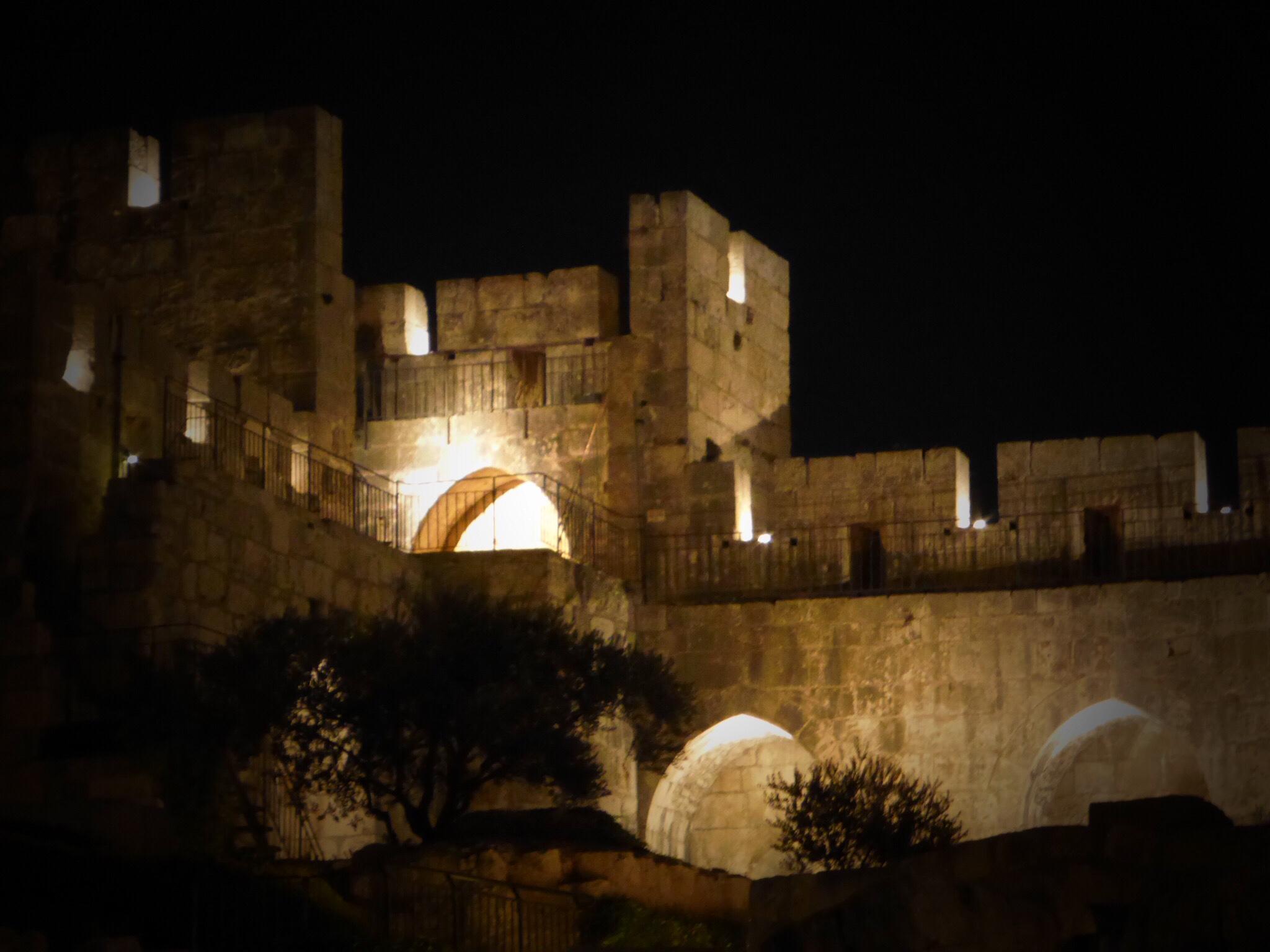 Inside the King David Citadel